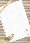 Vorlage braun weiß Cover