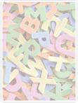 Designvorlage Buchstaben - Innenseite rechts