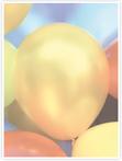 Designvorlage Luftballons - Innenseite rechts