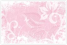 Designvorlage Lilien - Umschlag