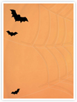 Designvorlage Halloween - Innenseite links