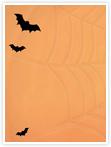Designvorlage Halloween - Innenseite links