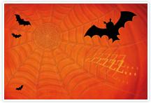 Designvorlage Halloween - Umschlag