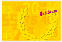 Designvorlage Jubiläum2- Umschlag