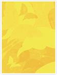 Designvorlage Schmetterling Gelb - Innenseite links