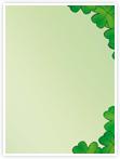 Designvorlage Hibiscus - Innenseite rechts