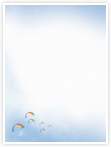 Designvorlage Seifenblasen - Innenseite links