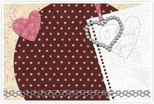 Designvorlage Herz2 - Umschlag