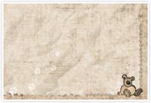 Designvorlage Braunbär - Umschlag