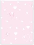 Designvorlage Herzchen rosa - Innenseite rechts