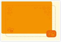 Designvorlage Biene - Umschlag