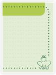 Designvorlage Frosch - Innenseite rechts