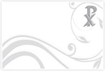 Designvorlage Christ - Umschlag