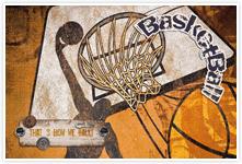 Designvorlage Basketball - Umschlag