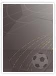 Designvorlage Fußball - Innenseite links