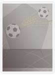 Designvorlage Fußball - Innenseite rechts