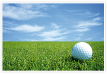 Designvorlage Golf - Umschlag