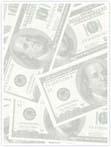 Designvorlage Dollar - Innenseite links