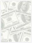 Designvorlage Dollar - Innenseite rechts