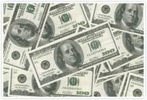 Designvorlage Dollar - Umschlag
