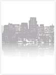 Designvorlage New York Syline - Innenseite links