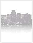 Designvorlage Skyline New York - Innenseite rechts