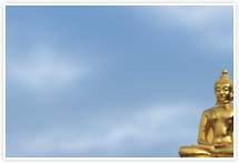 Designvorlage Buddha - Umschlag