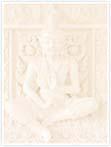 Designvorlage Thailand Tempel - Innenseite links
