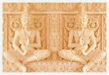 Designvorlage Tempel- Umschlag