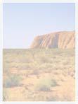 Designvorlage Australien_Ayers_Rock - Innenseite links