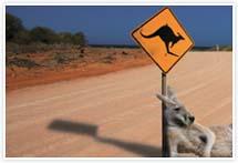 Designvorlage Australien_Kangaro - Umschlag