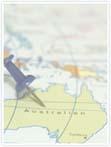 Designvorlage Australien - Innenseite rechts