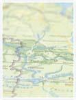 Designvorlage Landkarte Berlin - Innenseite links