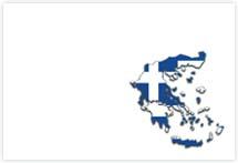Designvorlage Landkarte Griechenland- Umschlag
