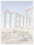 Designvorlage griechischer Tempel - Innenseite links