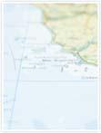 Designvorlage Landkarte Rom - Innenseite links