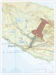Designvorlage Landkarte Rom - Innenseite rechts