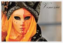 Designvorlage Venedig Karneval- Umschlag