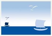 Designvorlage Insel - Umschlag