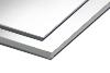 Premium Material - stabile weiße PVC-Platte