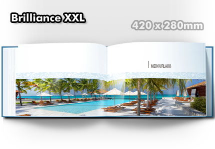 Echtfotobuch Brilliance XXL - 420x280mm