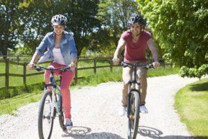 Eine Fahrradtour machen und die Stadt kennenlernen