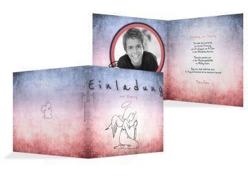 einladungskarten zur firmung │ druckstdu.de, Einladung