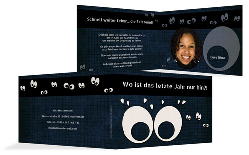 Schaurige Einladungskarten zu Halloween | druckstdu.de