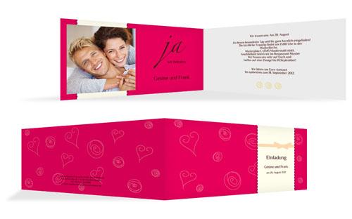Einladungskarten zur Verlobungsfeier | druckstdu.de