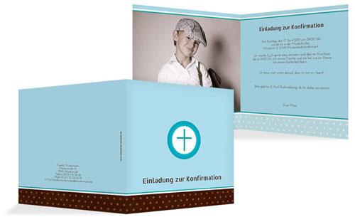 Konfirmationskarten gestalten | druckstdu.de